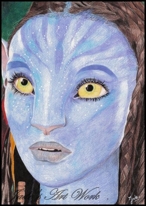 Avatar (film) by JadesArtWork